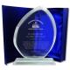 Innovador Galvano de cristal en forma de Pez S (Pequeño) Incluye Caja y grabado láser