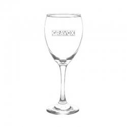 Copa de Vino mod. Versalles, Personalizada con Grabado Láser. 296 cc