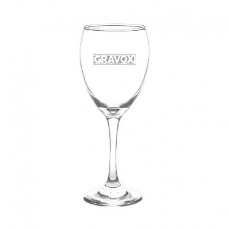Copa de Vino mod. Versalles, Personalizada con Grabado Láser