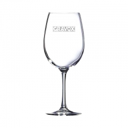 Copa de Vino Grands Vins 35, Incluye grabado láser GRATIS. 350 cc