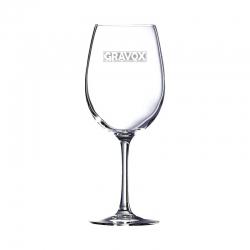 Copa de Vino Grands Vins 58, Incluye grabado láser. 580 cc