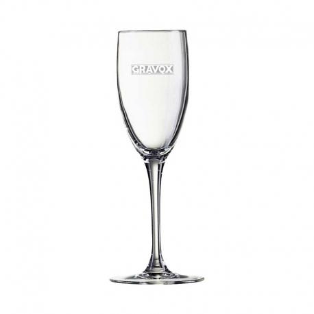 Estilizada Copa de Champagne So Wine 16, Incluye grabado láser