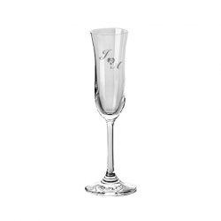 Copa de cristal para espumantes Stölzle Romance, incluye grabado láser personalizado. 105 cc
