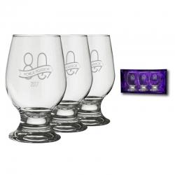 3 Copas Cerveceras Baja Paulista, Incluye grabado láser más caja de presentación. 300 cc
