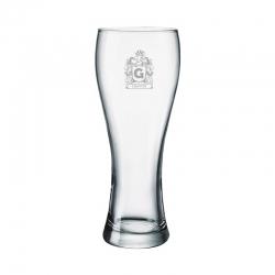 Vaso de Cerveza Praga M (Mediano), Incluye grabado láser. 420 cc