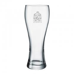 Vaso de Cerveza Praga L (GRANDE), Incluye personalizado con grabado láser. 665 cc