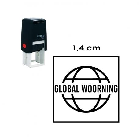 Timbre de Goma automático Traxx 9021