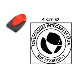 Timbre automático de Bolsillo Trodat 9440, personalizable con logo y texto, disponible para elaboración express