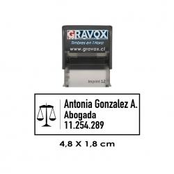 Timbre de Goma Automático Imprint 12, sello de caucho para empresas e instituciones, gran calidad a precio justo.