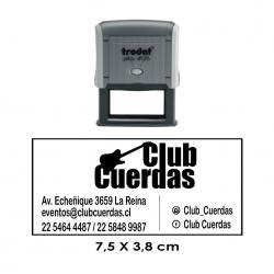 Timbre de Goma Automático Trodat Printy 4926, sello personalizable grande de la más alta calidad, ideal para logos
