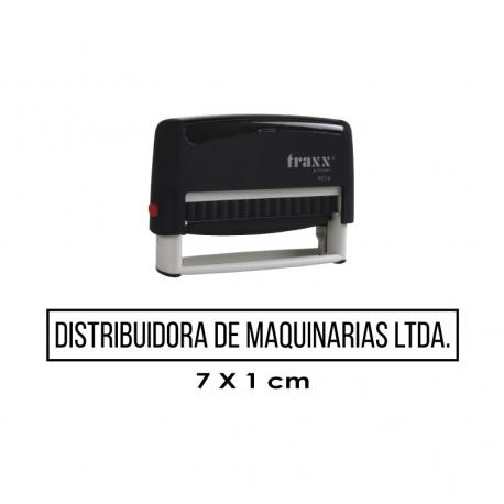 Timbre de goma automático Traxx 9016