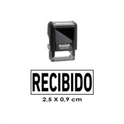 Timbre de Goma Automático pequeño (chiquitito) Trodat 4910 Personalizable de 2,6x0,9 cms. Entrega Express.