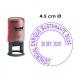 Timbre Fechador Automático Trodat Printy 46145, Ideal para Empresas e instituciones