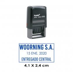 Timbre Fechador Automático Trodat Printy 4750