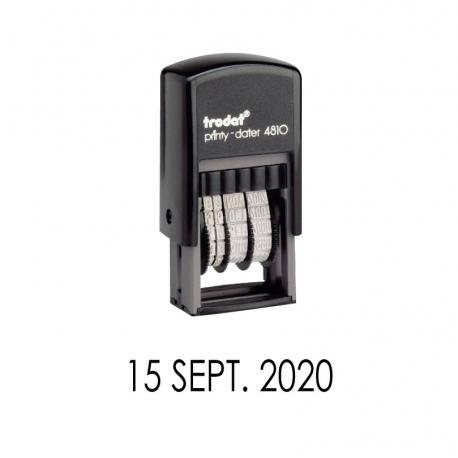Timbre Fechador Automático Trodat Printy 4810