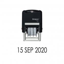 Timbre Fechador automático Traxx 7820 - Sello fechero listo para usar, recargable, disponible en colores a elección.