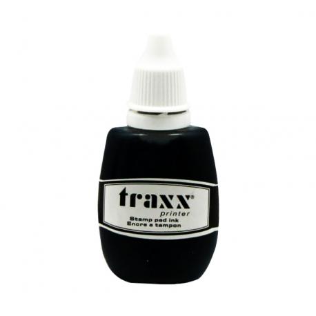 Tinta Negra para timbre de goma (Alemana) Marca Traxx