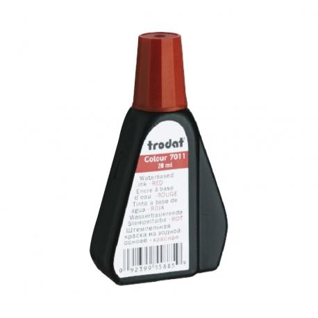 Tinta para timbre automático Trodat 7011 color Rojo