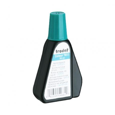 Tinta para timbre automático Trodat 7011 color Verde