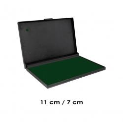Tampón color Verde Mediano para timbres de goma. Marca Trodat, el mejor