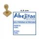 Timbre de goma manual de 6,5x6,5 cms - Cuadrado/Redondo con servicio exprés