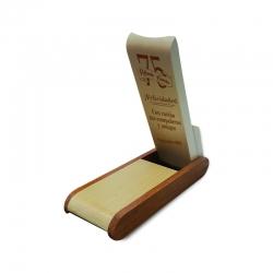 Lápices grabados en caja de bambú grabable con 2 lápices grabados láser Un perfecto regalo personal