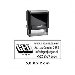 Timbre de Goma Automático Trodat Printy 4913, sello personalizable alta calidad, especial para empresas e instituciones.