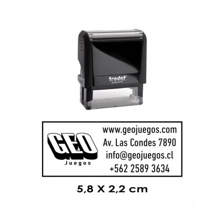 Timbre de Goma Automático Trodat Printy 4913