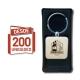 Llavero de madera Cuadrado desde 200 unidades incluye grabado láser y caja de regalo somos GRAVOX al por mayor