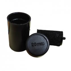 Rodillo tinta negra 20mm para etiquetadora MX-5500