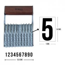 Foliador Manual TRAXX N18-10- Numerador manual de 10 dígitos