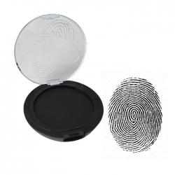 Huellero Dactilar TRAXX - Tampón de 4,2 cms - color negro