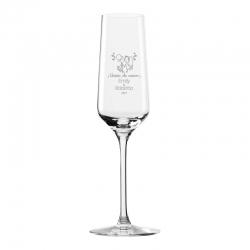 Copa para Espumante y/o Champagne 200 ml - Modelo Revolution - Incluye Grabado láser