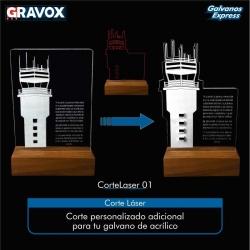 Corte Láser personalizado para Galvanos (Cambiar la forma del galvano)
