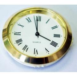 Reloj para embutir 35 milímetros, ideal para galvanos grabados (insumo)
