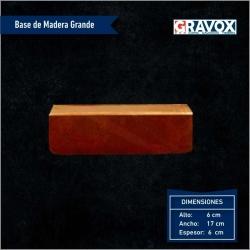 Base de madera para Galvano de Acrílico