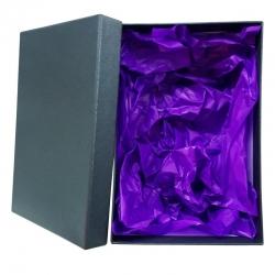 Caja para Copas, Vasos y Tazas Grabados Cuadrada 1011, 16,5x16,5x8 centímetros