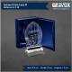 Galvano de Cristal Lanza M (Mediano), Incluye grabado láser y caja de presentación